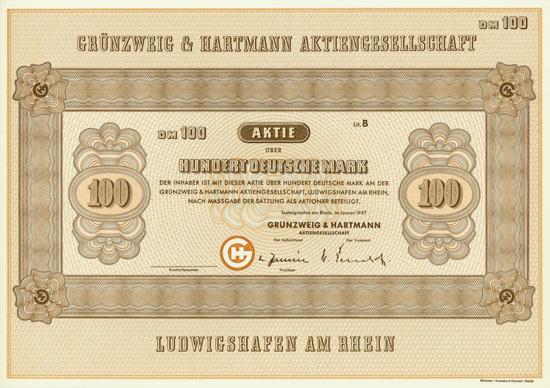 Grünzweig & Hartmann AG