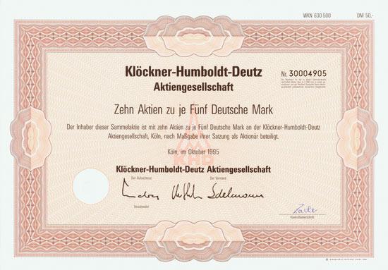 Klöckner-Humboldt-Deutz AG
