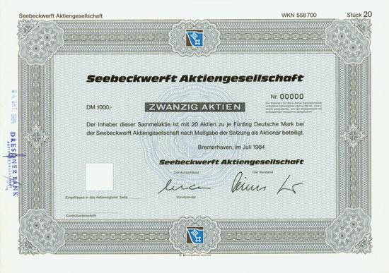 Seebeckwerft AG