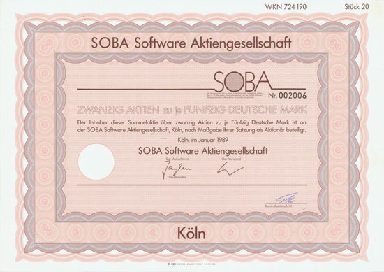 SOBA Software AG