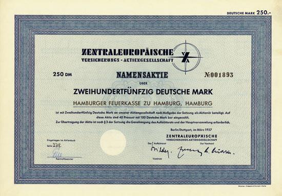 Zentraleuropäische Versicherungs-AG