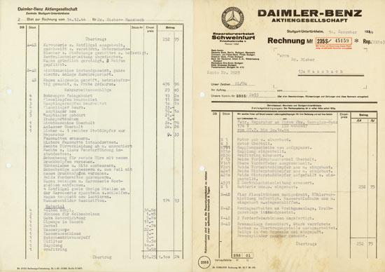 Stuttgart-Untertürkheim / Schweinfurt: Ärger mit Ihrer Daimler-Werkstatt?