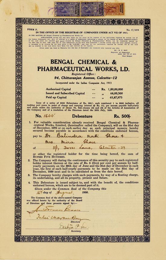 Bengal Chemical & Pharmaceutical Works, Ltd.