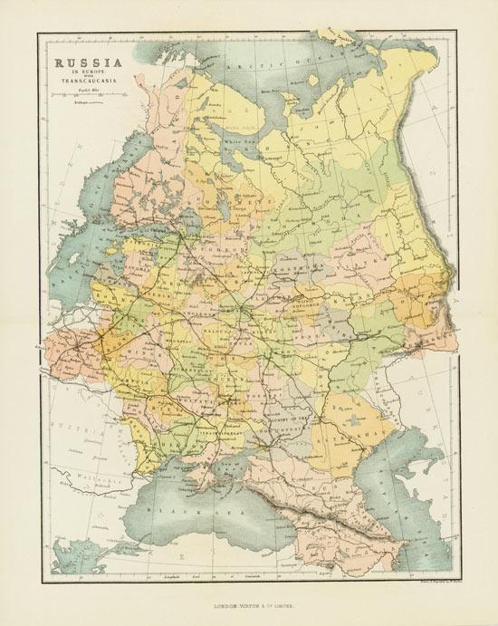 Russia in Europe with Transcaucasia