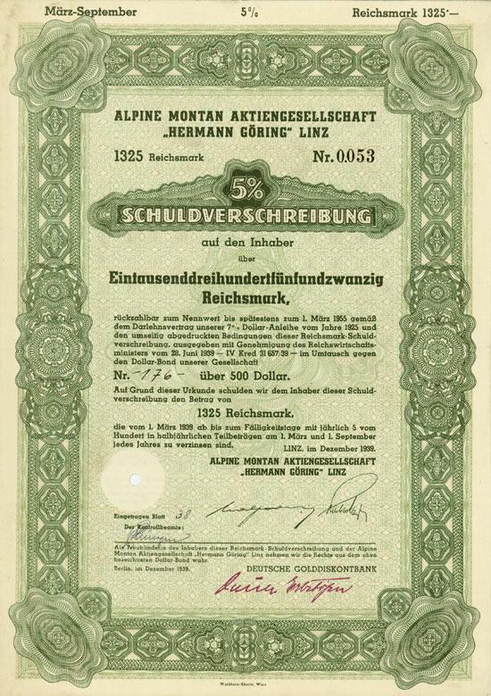 """Alpine Montan AG """"Hermann Göring"""""""