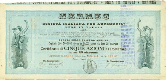 HERMES Società Italiana per Automobili