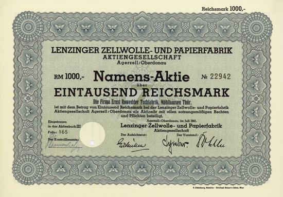Lenzinger Zellwolle- und Papierfabrik AG