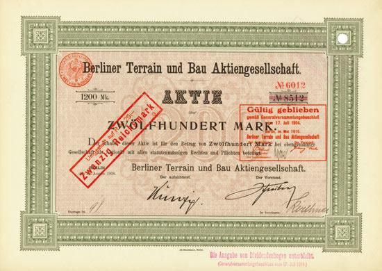 Berliner Terrain und Bau AG