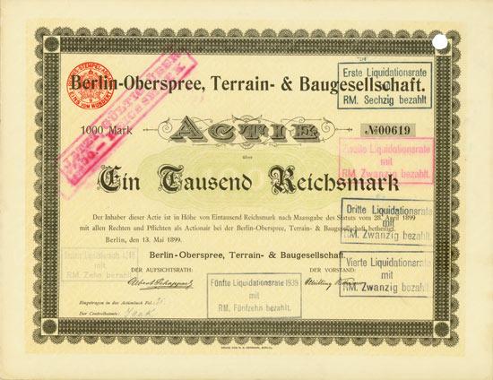 Berlin-Oberspree, Terrain- und Baugesellschaft