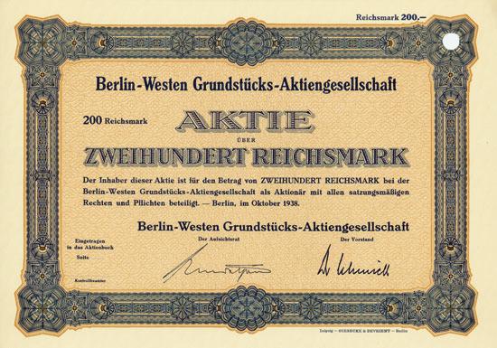 Berlin-Westen Grundstücks-AG