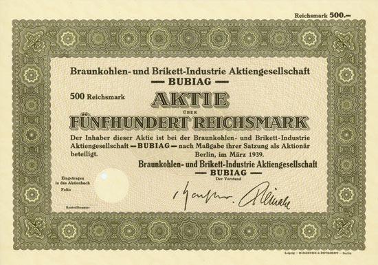 Braunkohlen- und Brikett-Industrie AG BUBIAG
