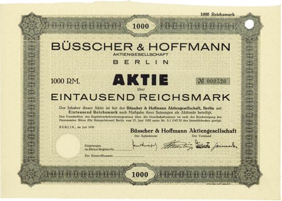 Büsscher & Hoffmann AG