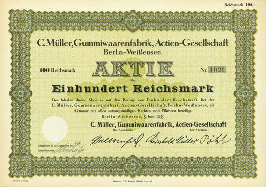 C. Müller, Gummiwaarenfabrik, AG