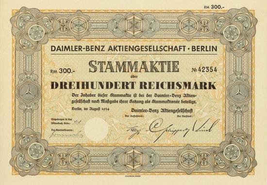 Daimler-Benz AG