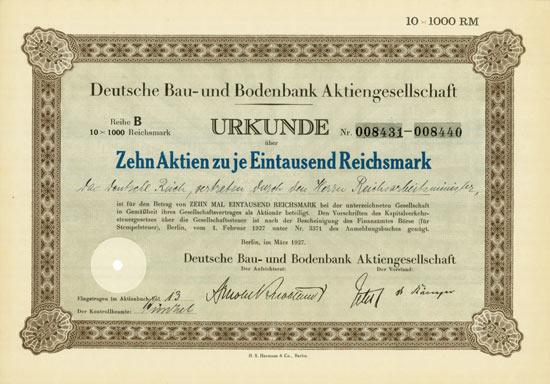 Deutsche Bau- und Bodenbank AG