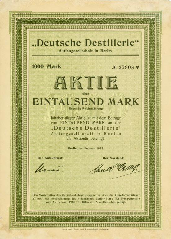 Deutsche Destillerie AG