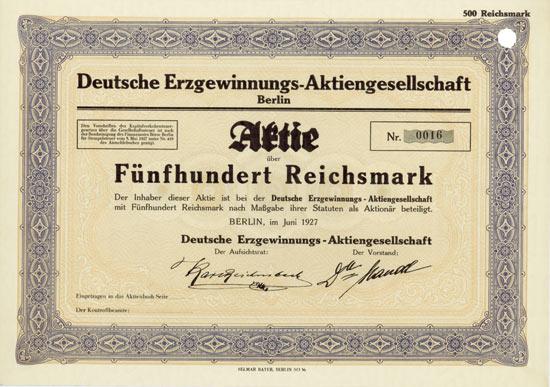 Deutsche Erzgewinnungs-AG