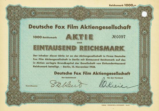 Deutsche Fox Film AG