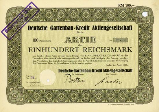 Deutsche Gartenbau-Kredit AG
