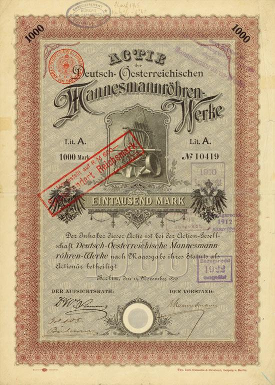 Deutsch-Oesterreichische Mannesmannröhren-Werke