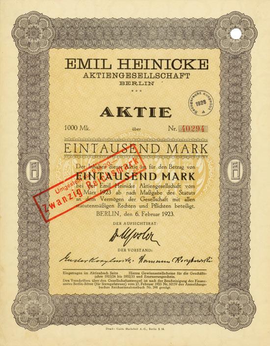 Emil Heinicke AG
