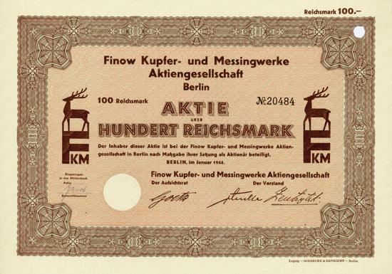 Finow Kupfer- und Messingwerke AG