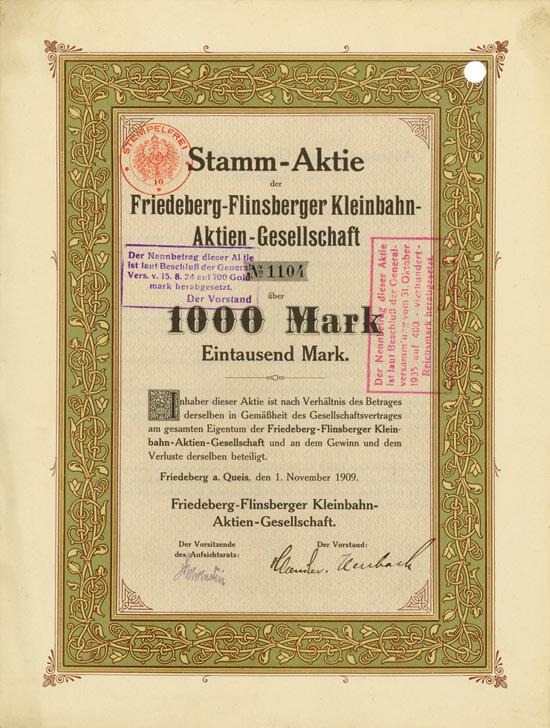 Friedeberg-Flinsberger Kleinbahn-AG
