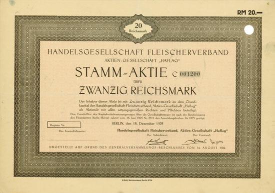 Handelsgesellschaft Fleischerverband AG