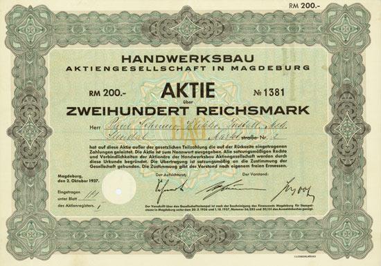 Handwerksbau AG