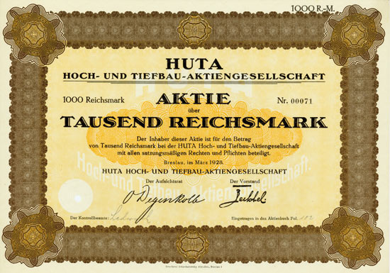 HUTA Hoch- und Tiefbau-AG
