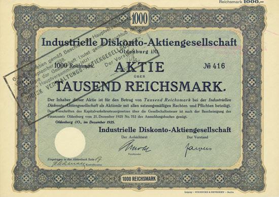 Industrielle Diskonto-AG