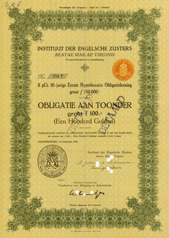 Institut der Engelsche Zusters-Beatae Mariae Virginis