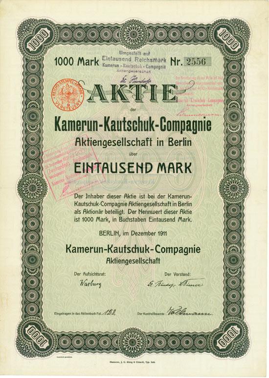 Kamerun-Kautschuk-Compagnie AG