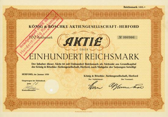 König & Böschke AG