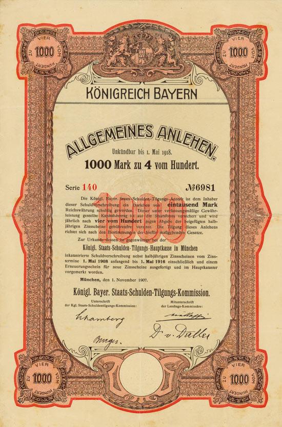 Königreich Bayern (Allgemeines Anlehen)