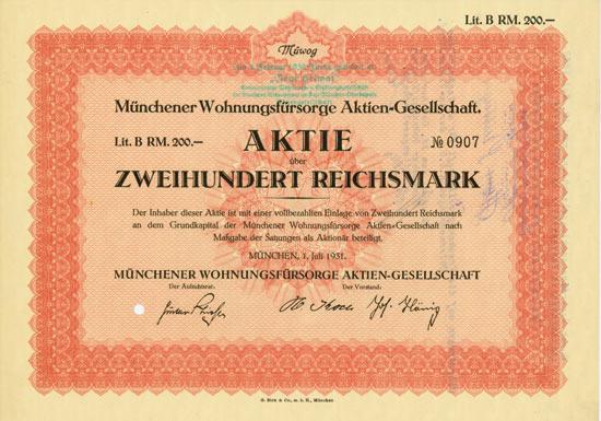 Münchener Wohnungsfürsorge AG