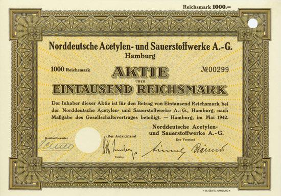 Norddeutsche Acetylen- und Sauerstoffwerke AG