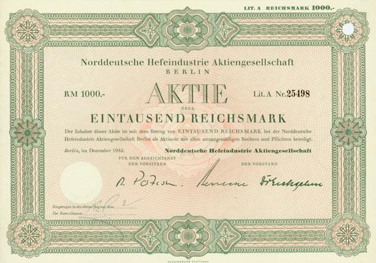 Norddeutsche Hefeindustrie AG