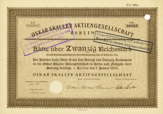 Oskar Skaller AG