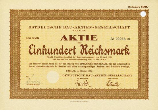 Ostdeutsche Bau-AG