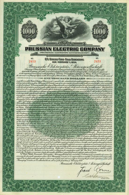 Prussian Electric Company (Preussische Elektrizitäts-AG)