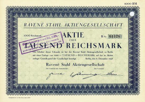 Ravené Stahl AG