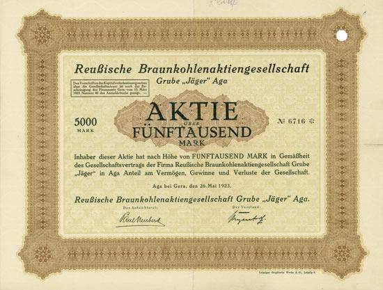 Reußische Braunkohlen-AG Grube
