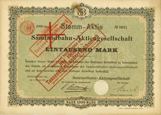 Samlandbahn-AG