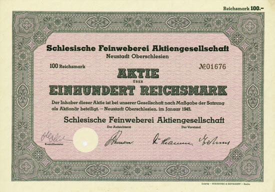 Schlesische Feinweberei AG