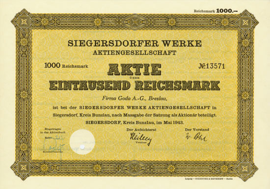 Siegersdorfer Werke AG
