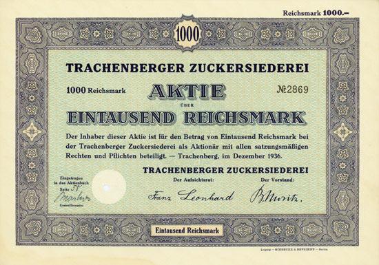 Trachenberger Zuckersiederei