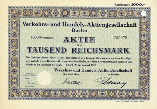 Verkehrs- und Handels-AG