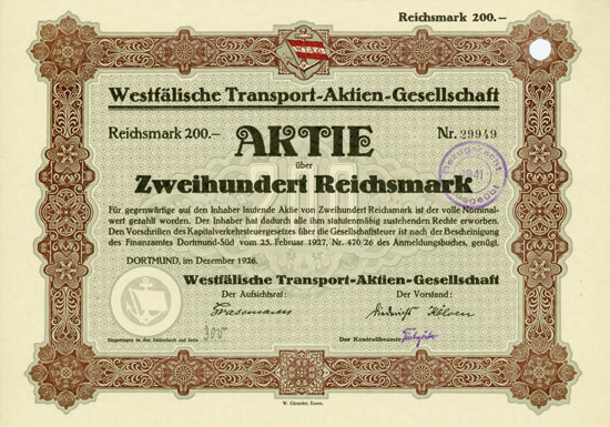 Westfälische Transport-AG