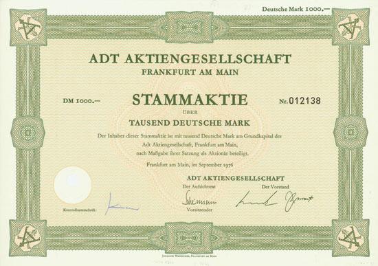 ADT AG